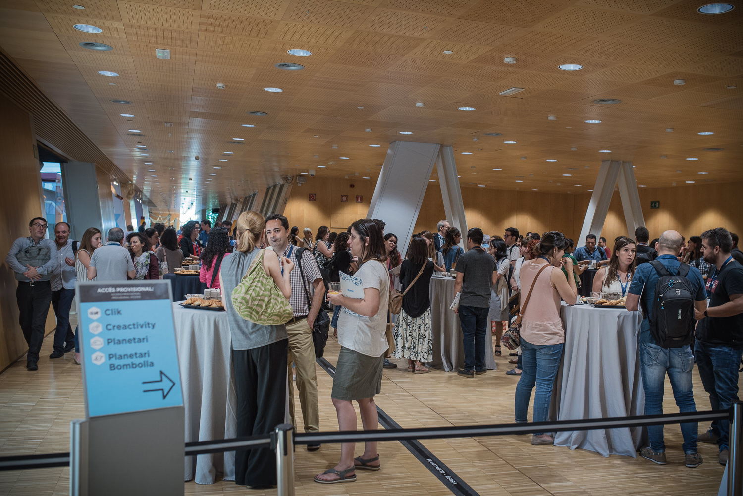 Lunch at the Barcelona Debates on the Human Microbiome 2018
