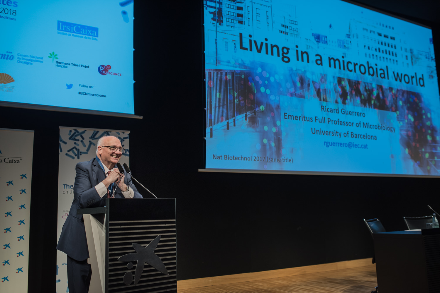 Ricard Guerrero at The Barcelona Debates on the Human Microbiome 2018