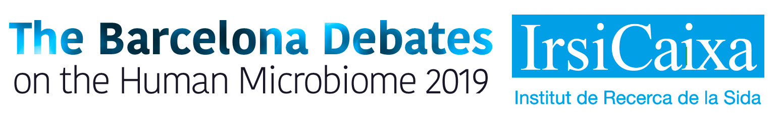 The Barcelona Debates on the Human Microbiome 2018 Logo