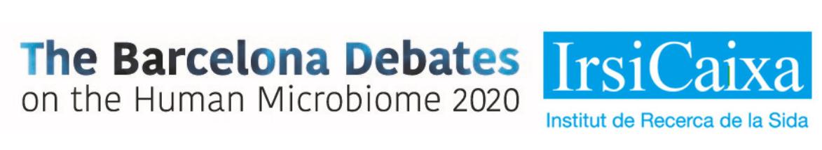 The Barcelona Debates on the Human Microbiome 2020 Logo